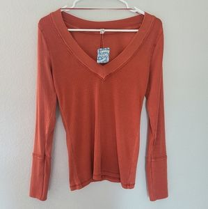 Nwt. Free people top. Large